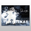 Sachin Tendulkar Signed photo framed memorabilia image full view