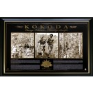 KOKODA PRINT PHOTO FRAMED