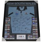 NSW BLUES LEGENDS JERSEY FRAMED STATE OF ORIGIN image