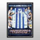 North Melbourne Kangaroos Signed 2014 jersey framed