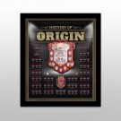 Queensland Maroons Origin Framed Shield image