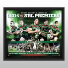South Sydney Rabbitohs 2014 Sportsprint poster