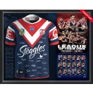 Sydney Roosters Signed 2018 Jersey Premiers