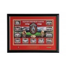 St George Dragons Eleven Straight 1956-1966 memorabilia