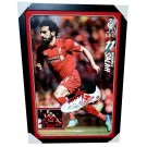 Mohamed Salah Signed Memorabilia Boot Framed image