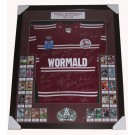 MANLY SEA EAGLES GREATS SIGNED JERSEY FRAMED