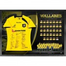 Australian Wallabies signed jersey Full Squad image full view