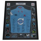 NSW Waratahs 2014 signed jersey framed